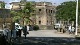 Stone Town.moja ya miji ya Zanzibar.
