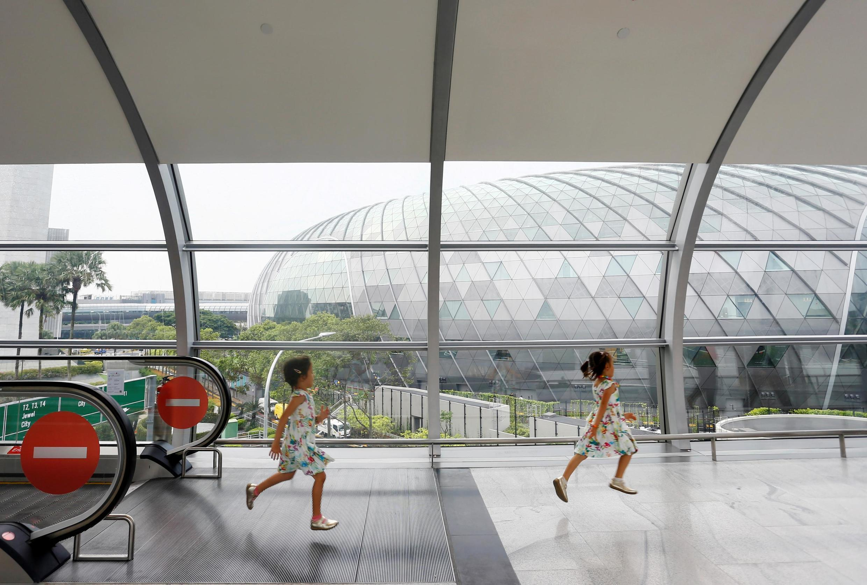 Sân bay Changi Singapore. Ảnh chụp ngày 11/04/2019