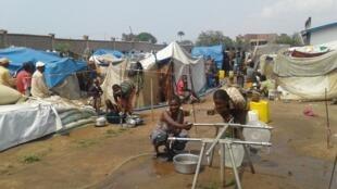 Déplacés dans le Tanganyika, en RDC (photo d'illustration).