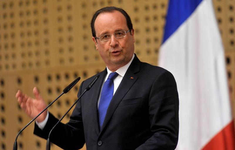 Tổng thống Pháp Francois Hollande khẳng định quyết tâm can thiệp võ trang vào Syria - Reuters