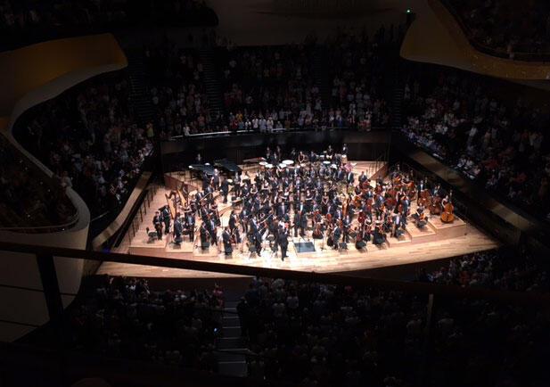 Concerto da orquestra juvenil da Bahia na Filarmônica de Paris encerrou turnê europeia.