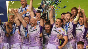 Exeter Chiefs won last year's Champions Cup final in Bristol, a fixture originally scheduled for Marseille