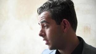 Jonathan Delay, une des victimes présumées de Daniel Legrand, à la cour d'assises de Rennes, le 19 mai 2015.