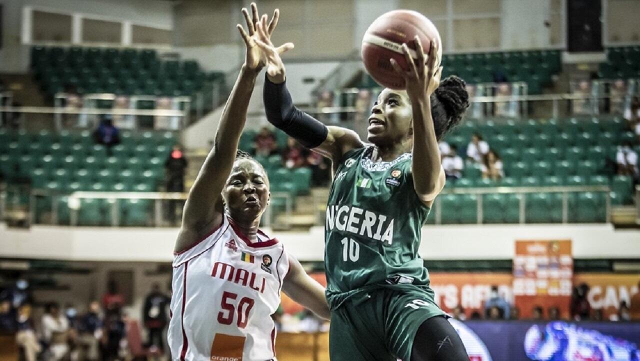 PHOTO Nigeria Mali Afrobasket féminin - 26 septembre 2021