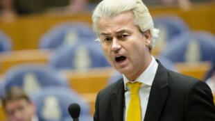 O deputado holandês Geert Wilders.