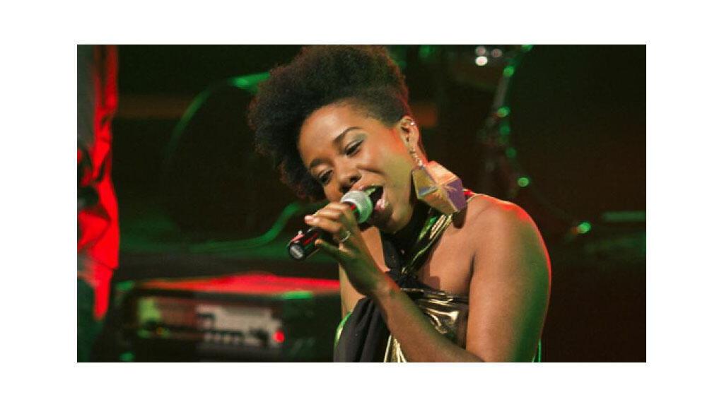 La chanteuse Darline Desca.