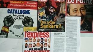 Revistas francesas.