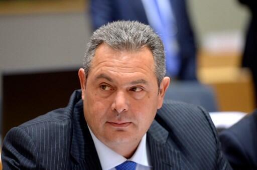 Bộ trưởng Quốc Phòng Hy Lạp Panos Kammenos. Ảnh minh họa.
