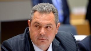 L'ex-ministre grec de la Défense Panos Kammenos (notre photo): «Nous ferons tout pour bloquer la ratification de l'accord de Prespes».