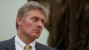 O porta-voz do Kremlin, Dmitri Peskov