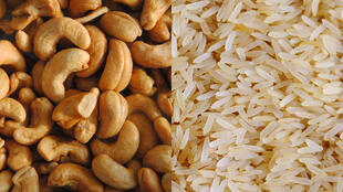 Le cours du troc s'adapte au marché. Cette année 1 kilo de noix s'échange contre 1 kilo de riz.