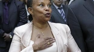 Christiane Taubira has been appointed Justice Minister of France