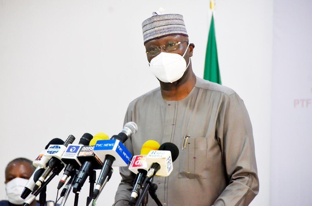 Boss Mustapha, Sakataren Gwamnatin Najeriya, kuma shugaban kwamitin yaki da annobar coronavirus a kasar.