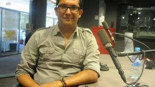 William Vega en RFI.