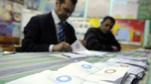 埃及公投计票