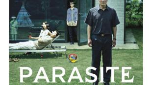 L'affiche de «Parasite» du réalisateur sud-coréen Bong Joon-ho.