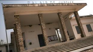 Cette photo prise le 17 février 2018 montre une vue du palais de justice de Mokolo, région de l'Extrême-Nord, Cameroun.