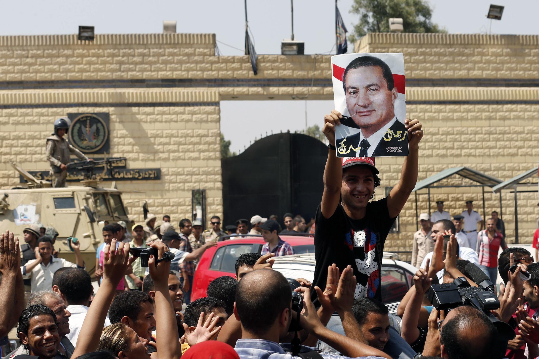 طرفداران حسنی مبارک، امروز در قاهره