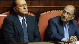 O ex-primeiro-ministro italiano Silvio Berlusconi é acusado de fraude fiscal.