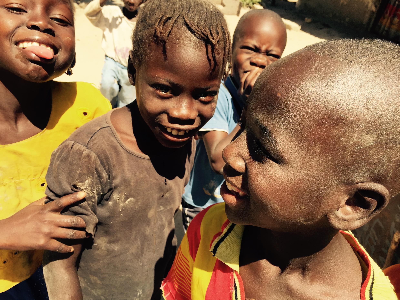 Enfants à Kolda en Casamance.