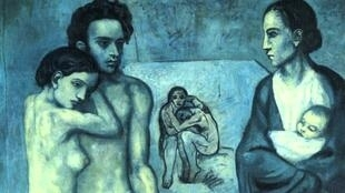 'Life' is a painting by Pablo Picasso, and part of his Blue Period collection.