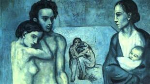 """""""La vie"""", Pablo Picasso."""