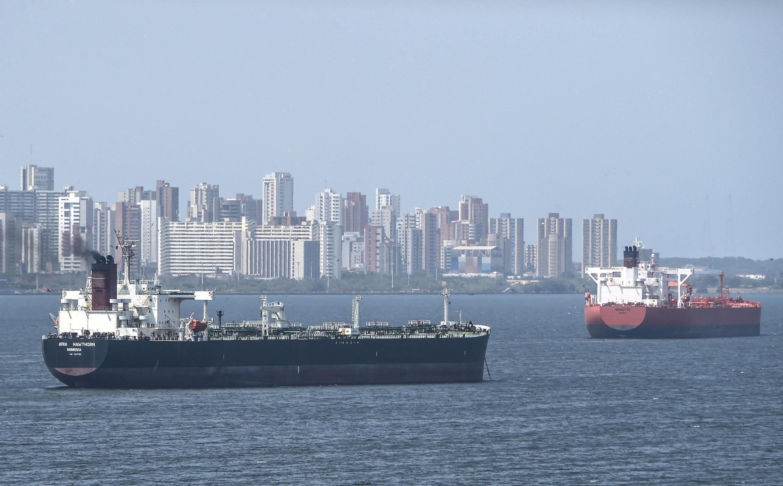 Un pétrolier sur le lac Maracaibo, le 15 mars 2019.