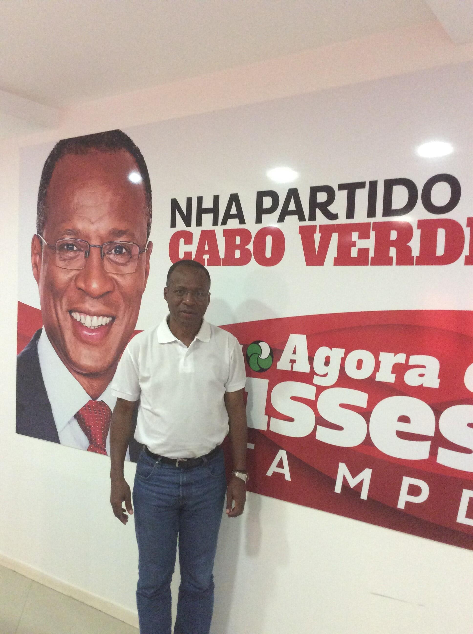 Ulisses Correia e Silva, líder do MpD.