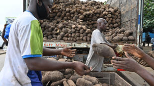 Kasuwar Doya a kasar Cote d'Ivoire