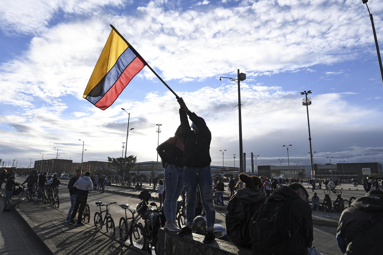 colombie - manifestation