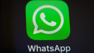 Une capture d'écran de l'application WhatsApp.