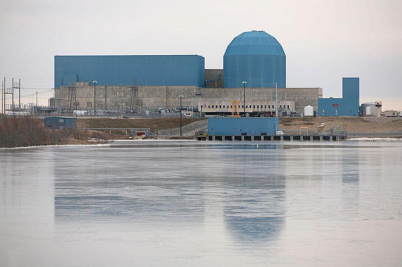 Ảnh minh họa : Nhà máy điện nguyên tử Clinton, bang Illinois.