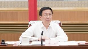 韩正在推进海南全面深化改革开放领导小组会议上 7月1日至3日,