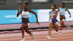 Dina Asher-Smith added the 200 metres gold to her 100 metres silver at the world championships.