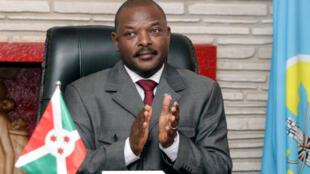 Rais wa Burundi Pierre Nkurunziza Juni 7, 2018.
