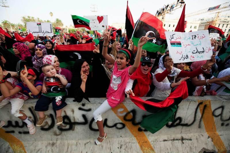 Mata da yara a zanga-zangar juyin juya hali a Libya