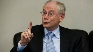 Rais wa Umoja wa Ulaya Herman Van Rompuy