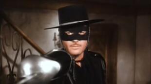 Guy Williams, el actor que encarnó al Zorro en la serie de Disney