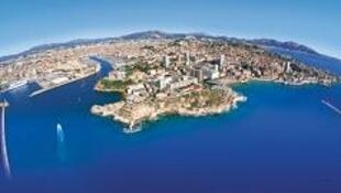 Marseille vue du ciel.