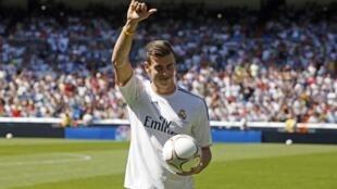 Mchezaji wa Real Madrid Gareth Bale