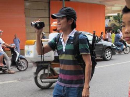 Blogger Anh Ba Sàm tức Nguyễn Hữu Vinh (DR)