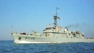 Navio Zaire da Marinha portuguesa participou nas buscas do navio santomense.