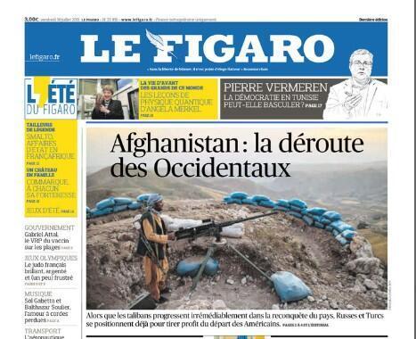 Le Figaro_Afghanistan