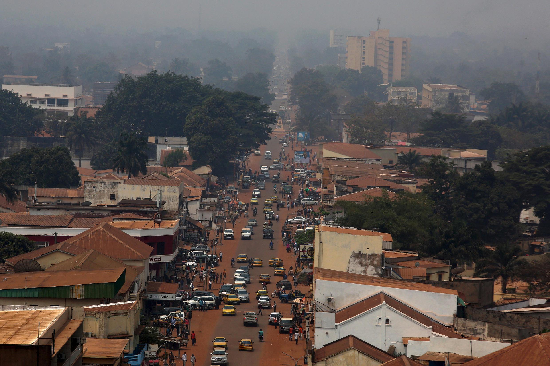 Centrafrique - Bangui - vue générale