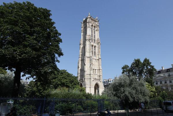 La Torre Saint-Jacques, en París.