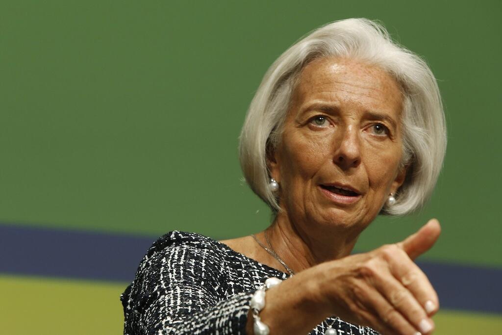 Mkurugenzi wa shirika la fedha duniani IMF, Christine Lagarde