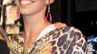 Aurélie Châtelain durante evento na cidade de Caudry, no norte da França, em imagem de arquivo.