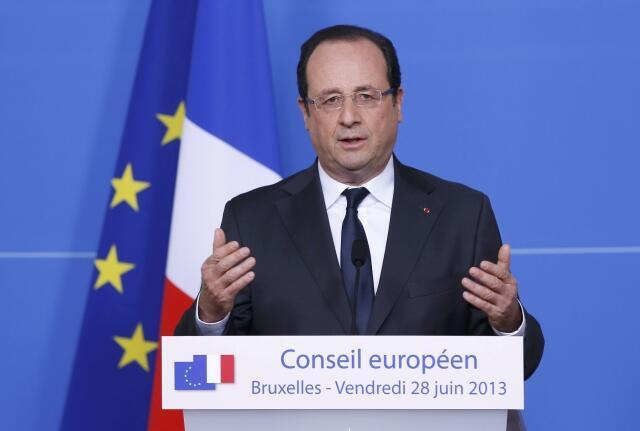 Президент Франции Франсуа Олланд потребовал от США немедленно прекратить слежку за европейскими партнерами 1 июля 2013