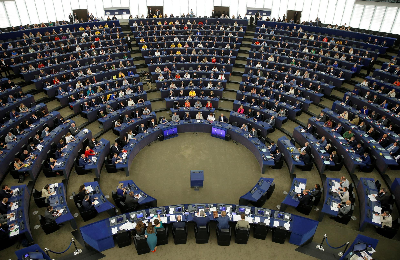 Primera sesión del Parlamento Europeo, este 2 de julio de 2019 en Estrasburgo.