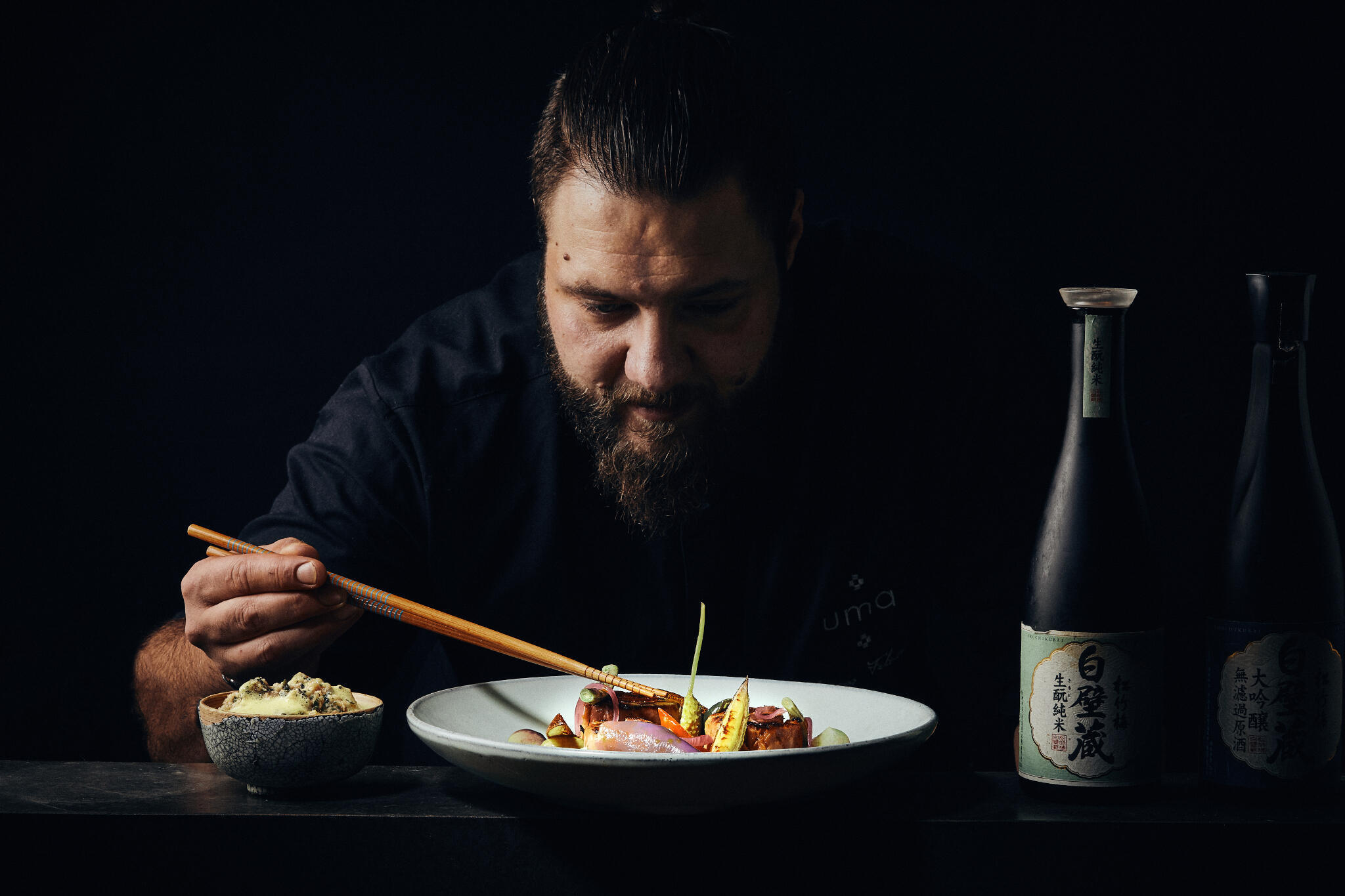 Chef Lucas Felzine aims to touch the soul of the people who taste his food